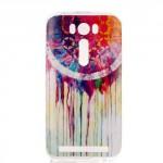 Pouzdro Zenfone Laser 2 500KL - růžové - Lapač snů