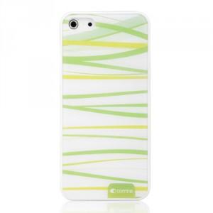 Kryt / Obal iPhone 5/5S - Zelené  pruhy