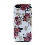 Pouzdro / Obal - iPhone 5/5S - Květy