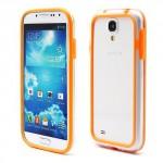 Bumper, oranžový 01- Galaxy S4 i9500