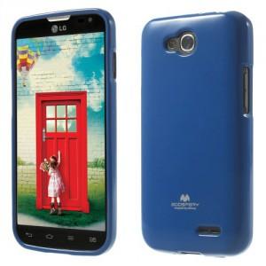 Obal Jelly Case LG L90 Dual - Tmavě modrý lesklý třpytivý