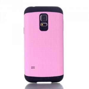 Dvoudílný kryt - Galaxy S5 Mini G800 - růžový