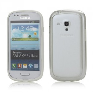 Bumper, bílý- Galaxy S3 Mini