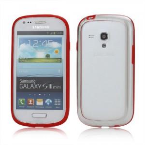 Bumper, červený- Galaxy S3 Mini
