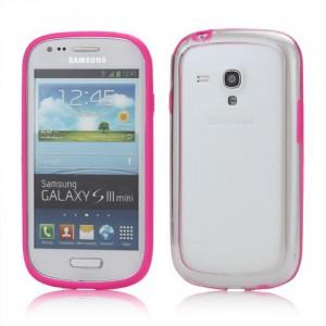 Bumper, fuchsia- Galaxy S3 Mini