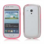 Bumper, světle růžový- Galaxy S3 Mini