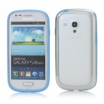Bumper, modrý- Galaxy S3 Mini