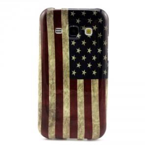 Pouzdro / Obal - Galaxy J1 - Vlajka USA