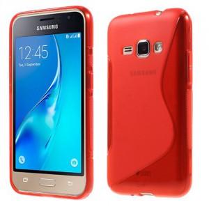 Pouzdro / Obal S-Curve Galaxy J1 (2016) - červený
