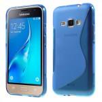 Pouzdro / Obal S-Curve Galaxy J1 (2016) - modrý