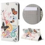 Pouzdro Huawei Y6 II - bílé - Motýli 02