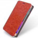Koženkové pouzdro Galaxy A5 (2016) - hnědé