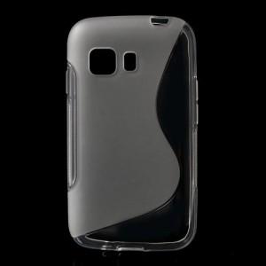 Pouzdro / Obal S-curve Galaxy S6 - Průhledné