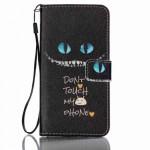 Koženkové pouzdro Galaxy J5 (2016) - Don´t touch my phone 02