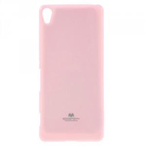 Obal Jelly Case Xperia XA - světle růžový třpytivý