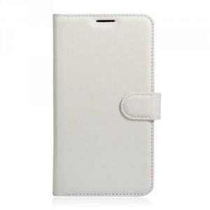 Koženkové pouzdro Alcatel Pop 4S - bílé