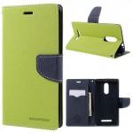 Pouzdro Fancy Diary Xiaomi Redmi Note 3 - zelené-tmavě modré