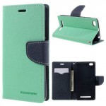 Pouzdro Fancy Diary Xiaomi Redmi 3 - tyrkysové -tmavě modré