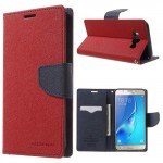 Pouzdro Fancy Diary - Samsung Galaxy J7 (2016) - červené