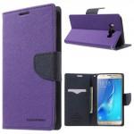 Pouzdro Fancy Diary - Samsung Galaxy J7 (2016) - fialové