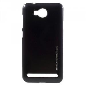 Zadní kryt Jelly Metal Huawei Y3 II - černý