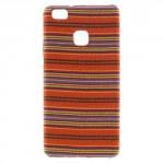 Kryt Textil Huawei P9 Lite - Abstraktní vzor 02