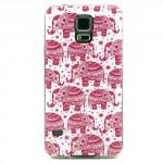 Pouzdro / Obal - Galaxy S5 - Sloni