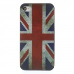 Kryt / Obal iPhone 4 - Union Jack