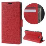 Pouzdro Cartoon Huawei Y6 II Compact - Červené