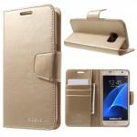 Pouzdro Sonata Diary Galaxy S7 - Zlaté
