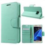 Pouzdro Sonata Diary Galaxy S7 - Tyrkysové