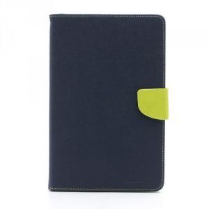 Pouzdro Wallet - Galaxy Note 8.0 N5100 - tmavě modré/zelené