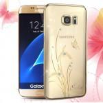 Kryt / Obal Galaxy S7 - Orchid - s kamínky Swarovski
