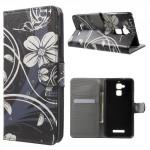 Koženkové pouzdro Zenfone 3 Max ZC520TL - Kvety 01