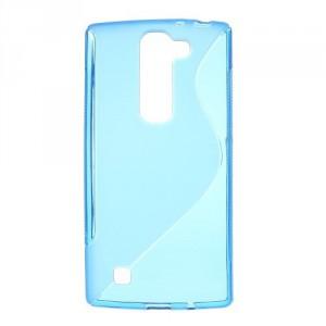 Pouzdro / Obal S-Curve LG G4c / LG Magna - modré