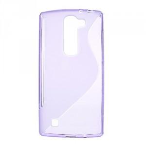 Pouzdro / Obal S-Curve LG G4c / LG Magna - fialové