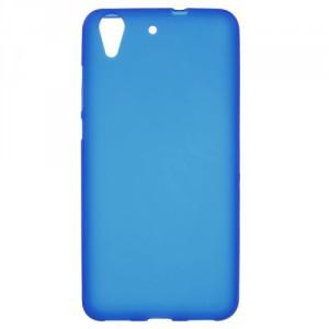 Pouzdro / Obal  Huawei Y6 II - modré matné