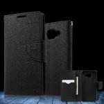 Pouzdro Fancy Diary Galaxy A3 (2016) - černé