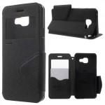 Pouzdro S-view Galaxy A3 (2016) - černé