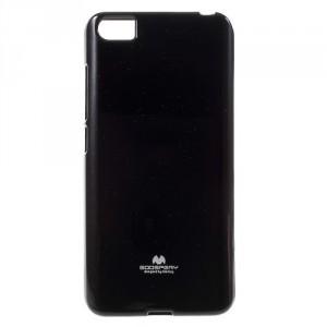 Pouzdro Jelly Case Xiaomi Mi5 - Černé lesklé třpytivé
