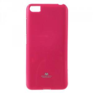 Pouzdro Jelly Case Xiaomi Mi5 - Tmavě růžové lesklé třpytivé