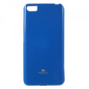 Pouzdro Jelly Case Xiaomi Mi5 - Modré lesklé třpytivé
