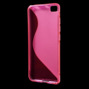 Pouzdro S-curve Xiaomi Mi5 - růžové