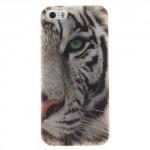 Pouzdro / Obal iPhone 5 / 5S / SE - Tygr