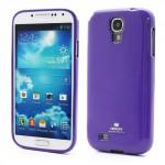 Obal Galaxy S4 i9500, i9505 - Fialový lesklý třpytivý