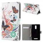 Pouzdro Xiaomi Redmi Note 3 - Motýli 02