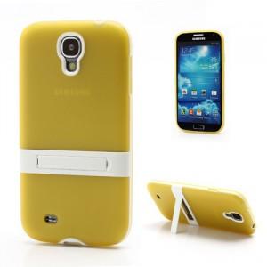 Pouzdro s držáčkem - Žluté - Galaxy S4