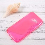 Pouzdro / Obal S-curve - Galaxy A3 (2017) - Růžové