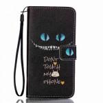Koženkové pouzdro Galaxy A3 (2016) - Don't touch my phone 03