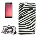 Koženkové pouzdro Xiaomi Redmi 3s - Zebra